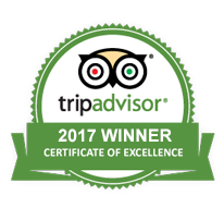 2017 TripAdvisor Certificate of Excellence to SkyVentures