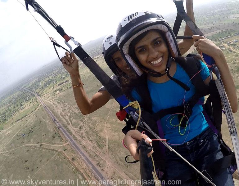 030 Tandem Paragliding Joy Ride Jodhpur, Jaipur, Jaisalmer, Pushkar rajasthan delhi india desert hot air balloon para sailing adventure flying fox zip line