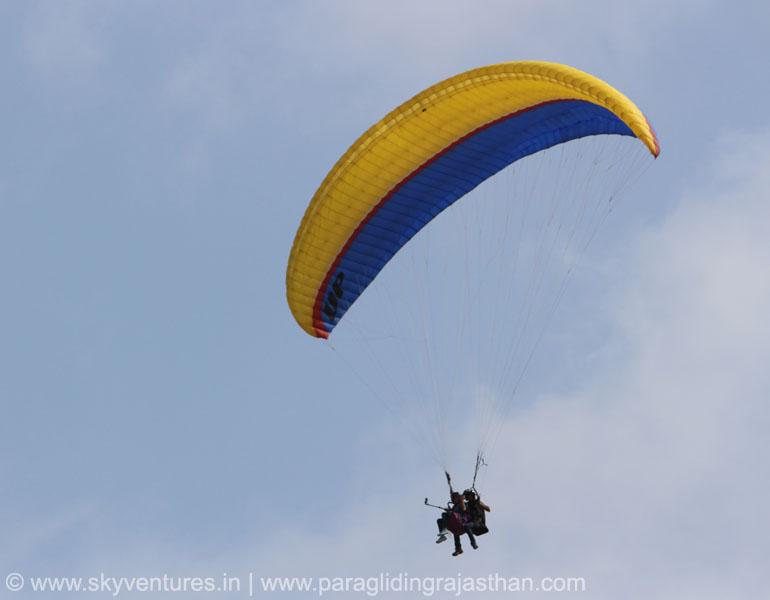 031 Tandem Paragliding Joy Ride Jodhpur, Jaipur, Jaisalmer, Pushkar rajasthan delhi india desert hot air balloon para sailing adventure flying fox zip line